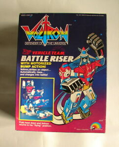 Voltron 80s anime classic Battle Riser LJN MIP 80's Lion force Chogokin  A21