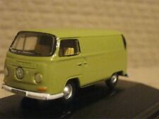 VW Bay Window Van - Arizona Yellow 1:76 Oxford Diecast Model Car British