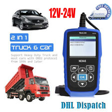 Heavy Duty Scanner Diesel Truck OBD2 HD-Reader Truck Diagnostic Tool NL102