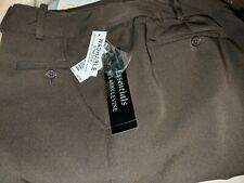New - Larry Levine Essentials Stretch Women Size 16 Chocolate Pants