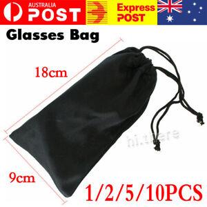 1/2/5/10PCS Soft Cloth Pouch Bag For Sunglasses Eyeglasses Glasses Case Storage