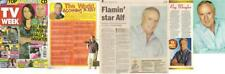 Home and Away Ray MeagherAlf vintage Magazie Clippings Australian TV Soapies