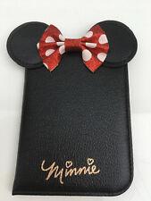 Disney Minnie Mouse Reisepass Passport Mappe Cover Reise Pass Ausweis Hülle