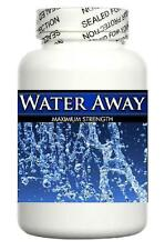 Water Away Retention Pills Herbal Diuretic Tablets Weight Loss Bloating Diet 60s
