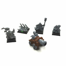 DWARFS Cannon with 3 crews FD1 battle for Skull pass Warhammer fantasy Dwarf