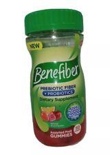 Benefiber Assorted 🌾 Fiber 🍒🍓🍊 Gummies Digestive Health Prebiotic Probiotic