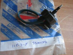 Injection Switch fits Fiat Ducato Talento 7580182 Genuine