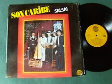 SON CARIBE : Salsa! LP 1981 Spanish DIAL DISCOS DOBLON 50.1634 Hernan Agudelo