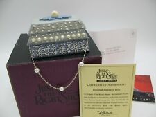 Just The Right Shoe Raine Willittis Designs Frosted Fantasy Trinket Box Coa