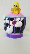 Sylvester And Tweety Bird Cookie Jar Looney Tunes By Gibsons VTG