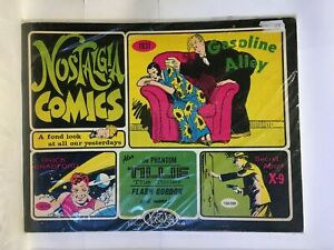 Nostalgia Comics #4 Comic Strip Reprints Collection The Phantom Gasoline Alley
