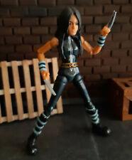 "Marvel Comics Legends X-23 Laura  6"" toy figure Black Variant, wolverine, logan"