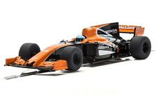 Scalextric McLaren Honda MCL32 Car, Fernando Alonso, 2017 1:32 slot car C3956
