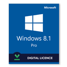 WINDOWS 8.1 pro GENUINE product key 32&64 Bit FULLY SATISFACTION [FAST DELIVERY]