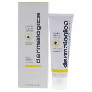 Dermalogica Invisible Physical Defense SPF30 Sunscreen 1.7 oz New EXP 6/2022