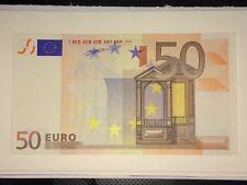 Billet De 50 Euro L003G2 Hologramme,Referencé Fauté Dans Le Sohier,Rare Billet..