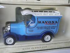 Lledo Promotional SP50093, Bull Nose Morris Van, Savona Provisions, Oxford, cert