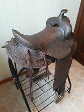 Vintage saddle western 15 inch