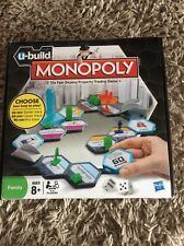 U Build Monopoly Game Hasbro 2009 All Contents New and Sealed