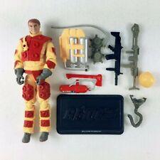 "3.75"" Gi Joe Pursuit of Cobra Blowtorch Flamethrower Action Figure"