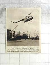 1955 Self Delivery Bristol Sycamore Helicopter Flown For Export