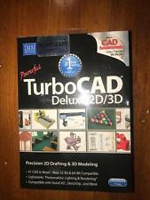 Brand New Software Turbo CAD Delux 2D/3D