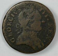 1778 Machin's Mills Colonial Copper Halfpenny - Vlack 12-78B R.3