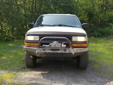 Chevy S-10  Chevy Blazer Modular Front Winch Bumper with Bull Bar 1994-2005