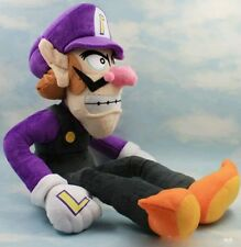 SUPER MARIO BROS. WALUIGI PELUCHE - 30Cm. -  Plush Princess Pupazzo Peach