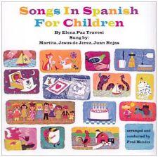 VARIOUS : SONGS IN SPANISH FOR CHILDREN (CD) sealed
