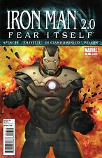 Iron Man 2.0 #7 Fear Itself Conclusion Marvel Comics 2011 VF!!!
