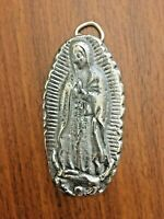 Virgen De Guadalupe Pewter Image Wall Hanging/Decor/Gift- Our Lady Of Guadalupe