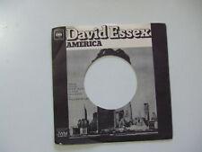 David Essex – America - Copertina Forata Disco Vinile 45 Giri (NO DISCO)