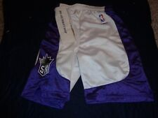 Sacramento Kings Nba Reebok Youth Child Large 14-16 Basketball Shorts