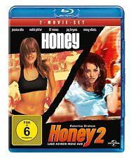 Blu-ray * HONEY 1 & 2   JESSICA ALBA # NEU OVP +