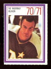 1970-71 ESSO POWER PLAYERS NHL #10 MURRAY OLIVER EX-NM NORTH STARS UNUSED STAMP