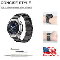 Stainless Steel Bracelet Strap Samsung Gear S3 Frontier / S3 Classic Watch Band