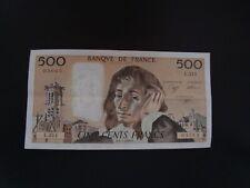 500   FRANCS   PASCAL  1990   L 314