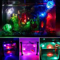 aquarium coloré aquarium AMPHIBIE submersible Mini LED SPOT LAMPE