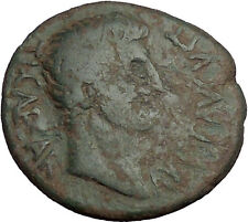 TIBERIUS 14AD Pella Macedonia Authentic Biblical Times Ancient Roman Coin i52691
