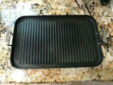 All-Clad 13x20 Nonstick Double Burner Grill Pan Oven Safe