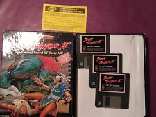 STREET FIGHTER II 2 VINTAGE IBM PC BOXED SOFTWARE COMPUTER GAME