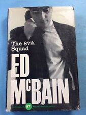 THE 87TH SQUAD - FIRST EDITION SIGNED BY ED MCBAIN