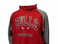 Chicago Bulls NBA Basketball Majestic Hoodie Blue Men's Big and Tall, nwt