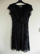 Gorgeous Black & Grey Dress from New Look - Size 10 - BNWOT!!