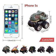 6PC Pull Back Car Mini Toy Dinosaur Model Car Car Dolls For Children's Day Gift