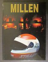 Signed! STEVE MILLEN by John Addison ~ 2000 ~ Rare Hard Cover