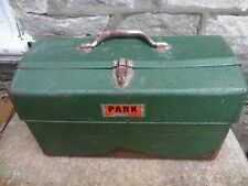 "VTG Park 1780 Metal Tool Box Cantilever Style 17"" Tool Tackle With 4 Trays USA"