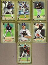 2006 UD ARTIFACTS MLB ROOKIE 7 CARD LOT FIELDER RAMIREZ ZIMMERMAN LIRIANO + NM