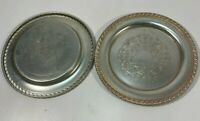 "Vintage 2 Silver Plated Sheffield  Plate 7.5""/19Cm"